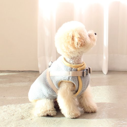 (3nd)harness padding vest _ BABY BLUE
